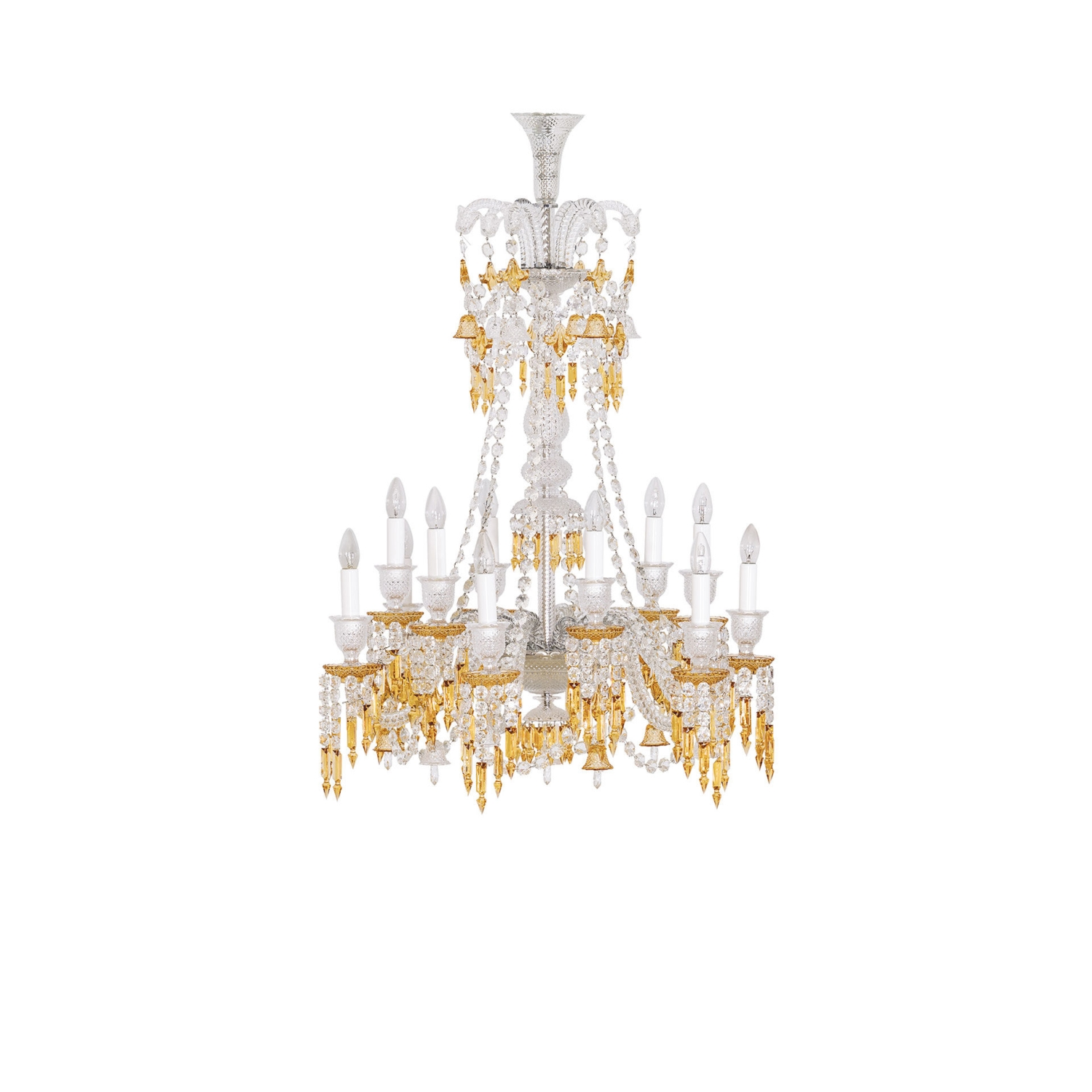 Chandelier 12l baccarat zenith charleston 2809416 chandelier 12 lights long baccarat arubaitofo Choice Image