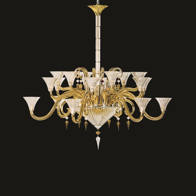 Chandelier gold 18 lights baccarat chandelier gold 18 lights baccarat aloadofball Gallery