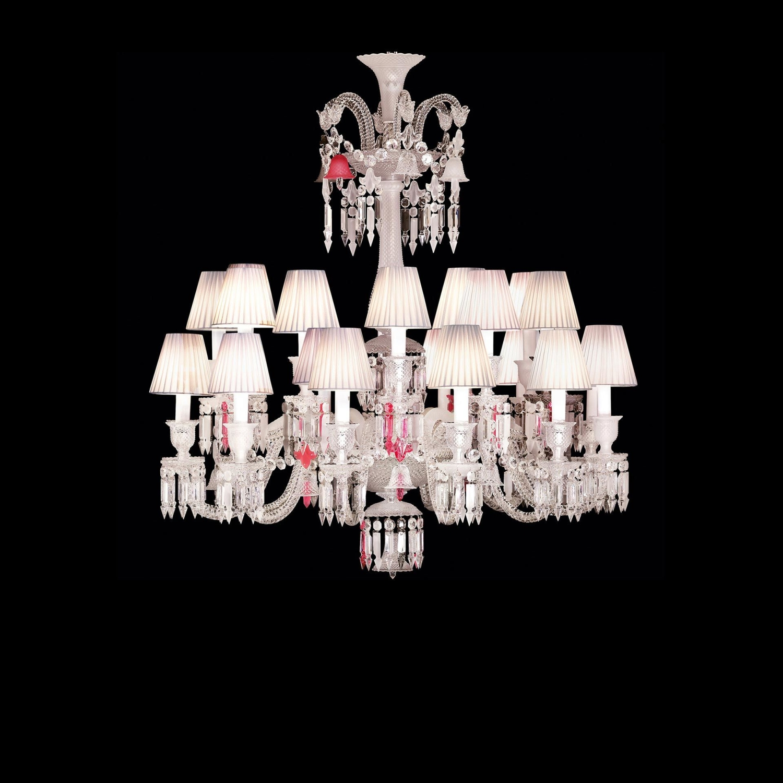 Chandelier 24 lights short baccarat chandelier 24 lights short baccarat aloadofball Gallery