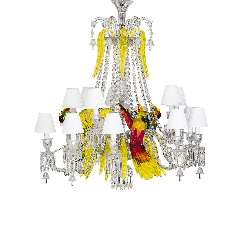 Chandelier baccarat etrange zenith 2806402 chandelier parrots baccarat arubaitofo Gallery