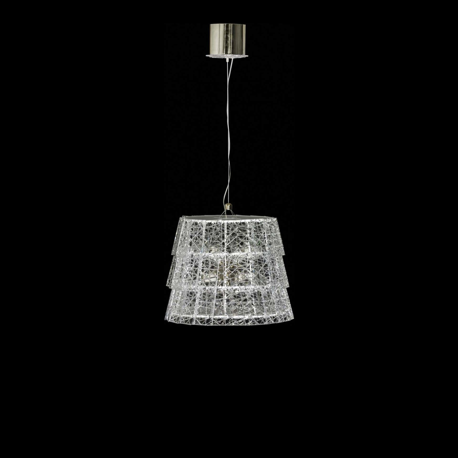 Chandelier baccarat tuile de cristal 2802827 for Chandelier centre de table