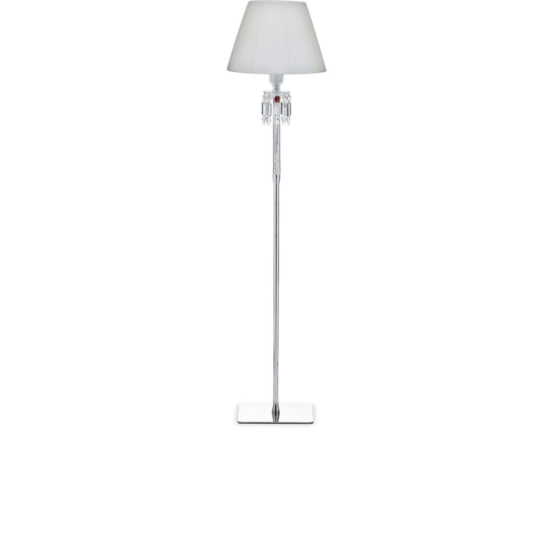 Superbe Small Floor Lamp White   Baccarat