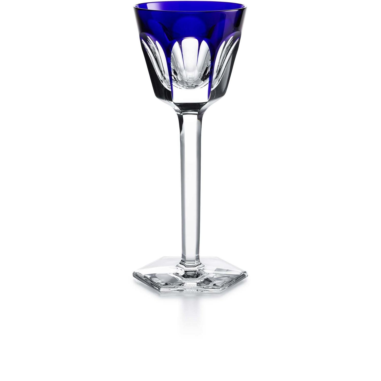 glass baccarat harcourt wine glass blue 1201132. Black Bedroom Furniture Sets. Home Design Ideas