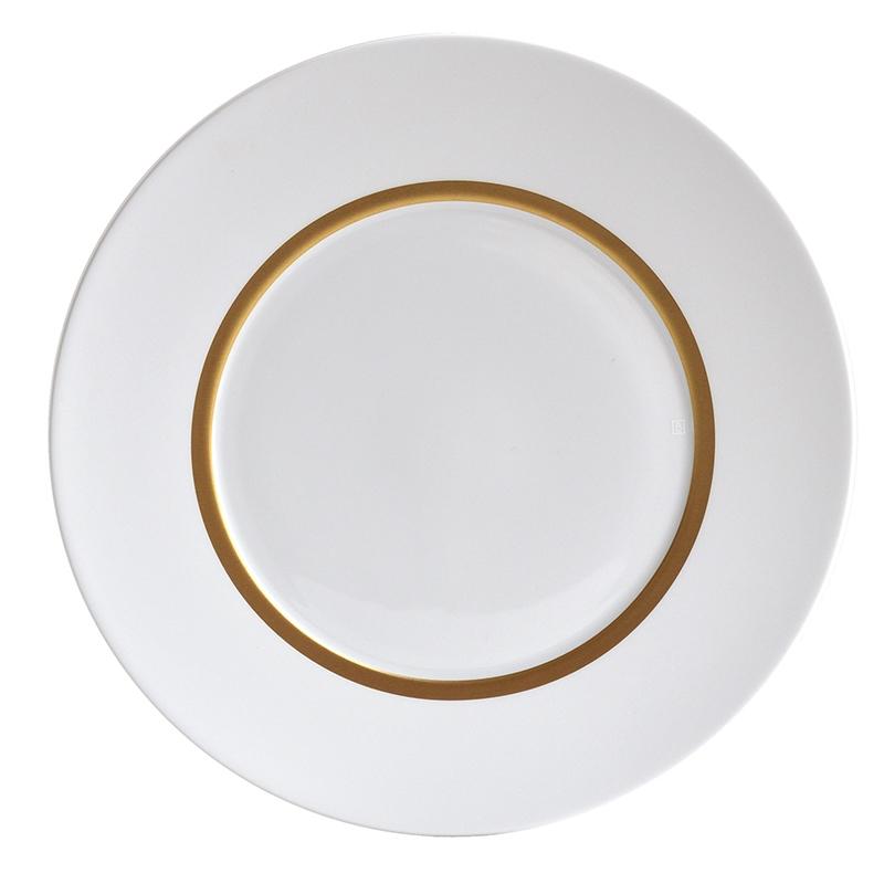 6 x dinner plate gold - Bernardaud  sc 1 st  Table \u0026 Prestige & plate Bernardaud cronos or dinner plate 1607-21761