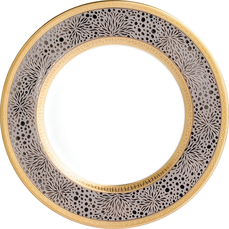 Dinner plate - Bernardaud  sc 1 st  Table \u0026 Prestige & plate Bernardaud follies dinner plate 0503-13