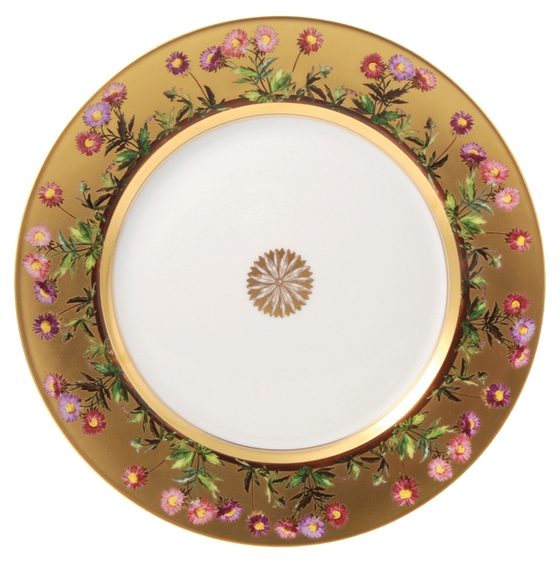 Dinner plate - Bernardaud  sc 1 st  Table \u0026 Prestige & plate Bernardaud heloise dinner plate 0487-13