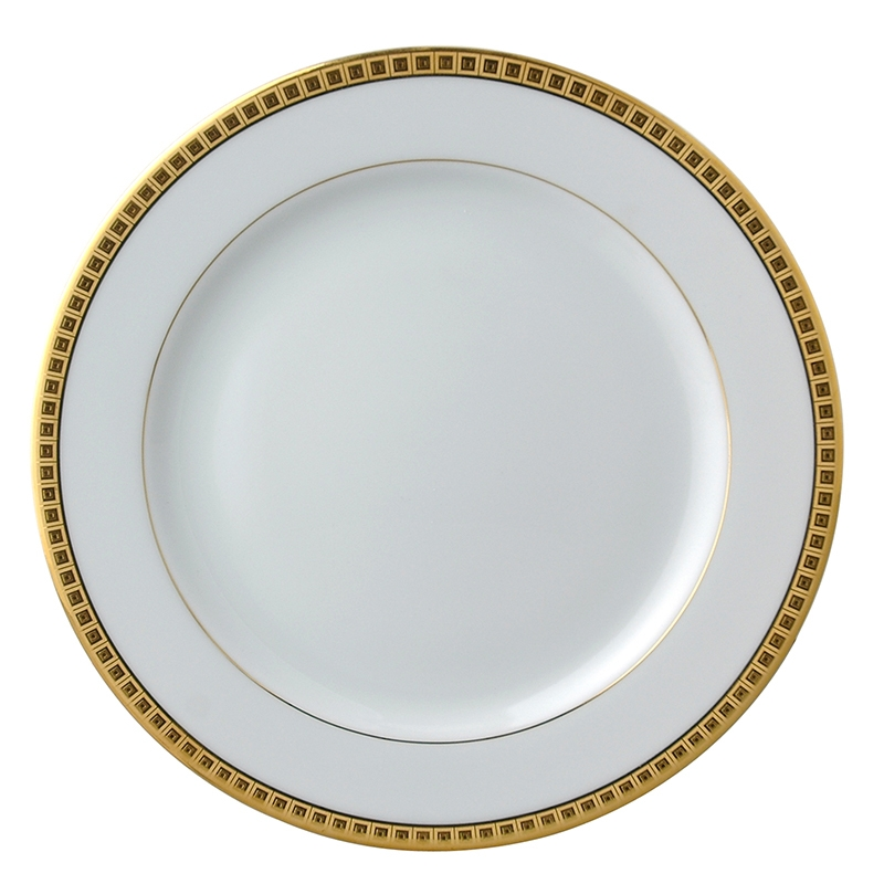 4 x salad plate gold - Bernardaud  sc 1 st  Table u0026 Prestige : athena dinnerware collection - pezcame.com