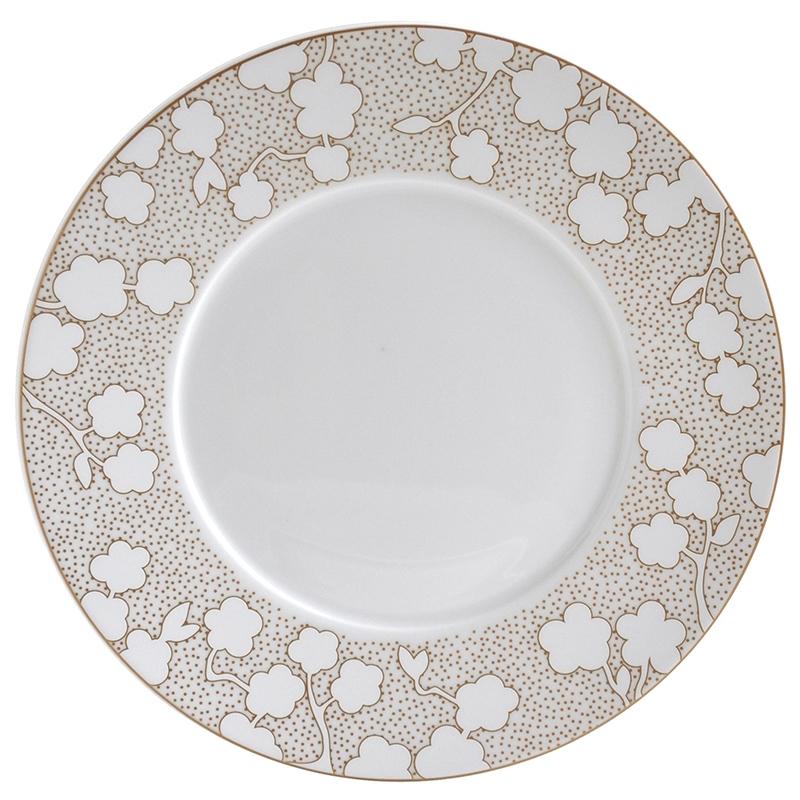 4 x salad plate - Bernardaud  sc 1 st  Table u0026 Prestige & plate Bernardaud reve salade plate 1645-17