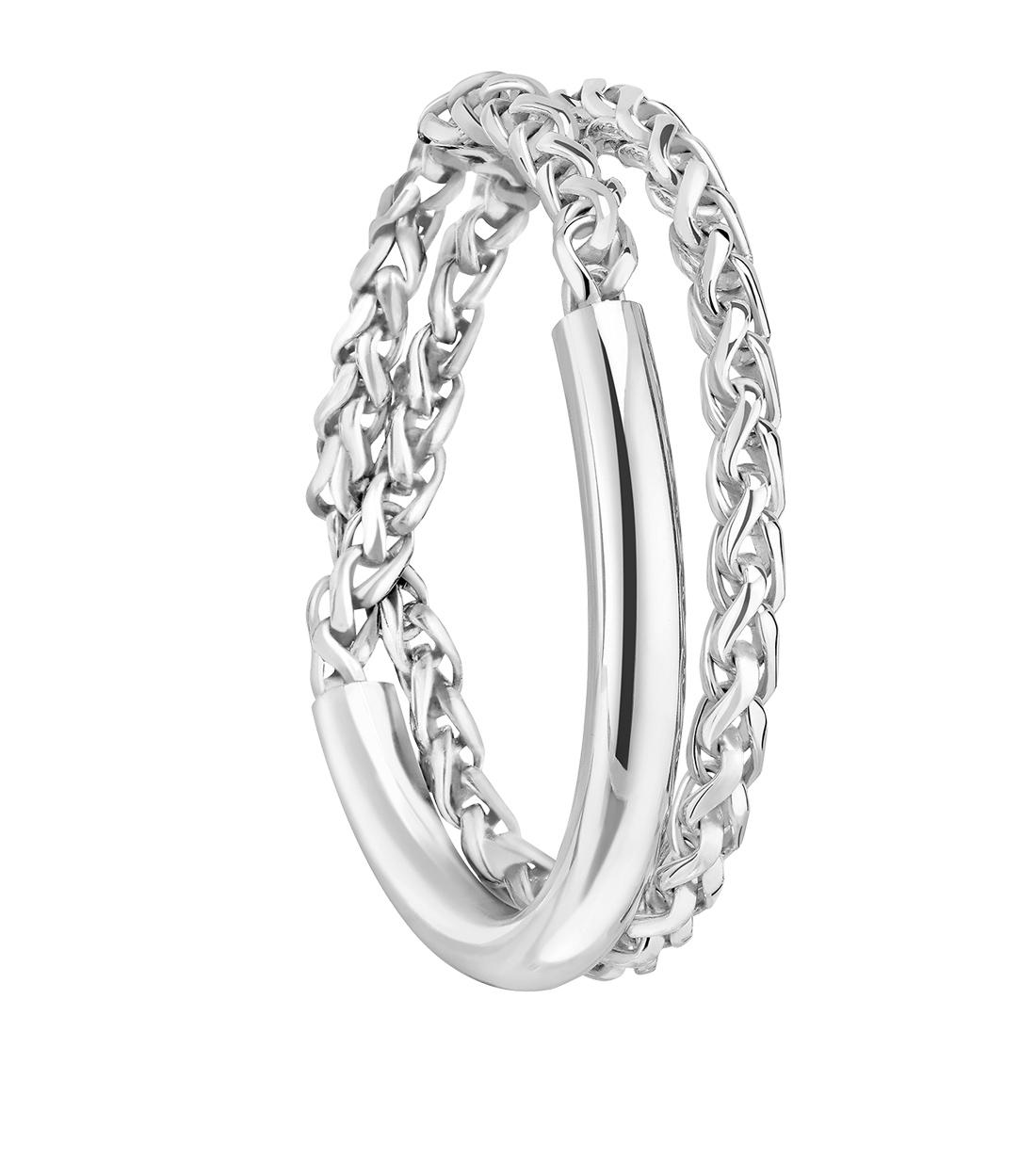 Bracelet S2 In Sterling Silver Christofle