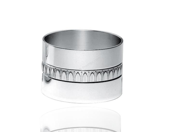 Napkin h 1 1 4 39 39 malmaison christofle silver flatware 05260123 - Timbale argent christofle ...
