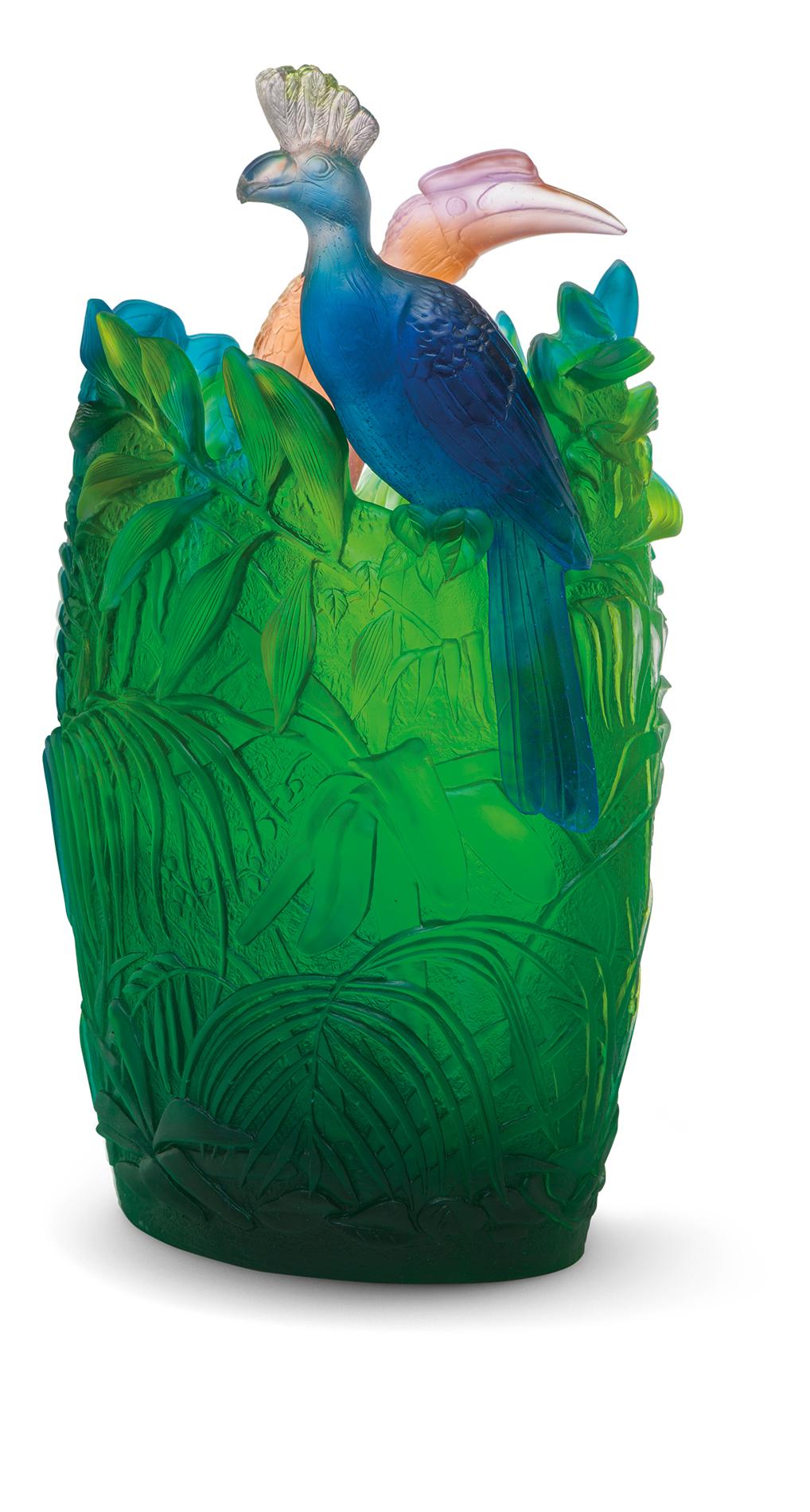 Vase Daum Jungle 05337