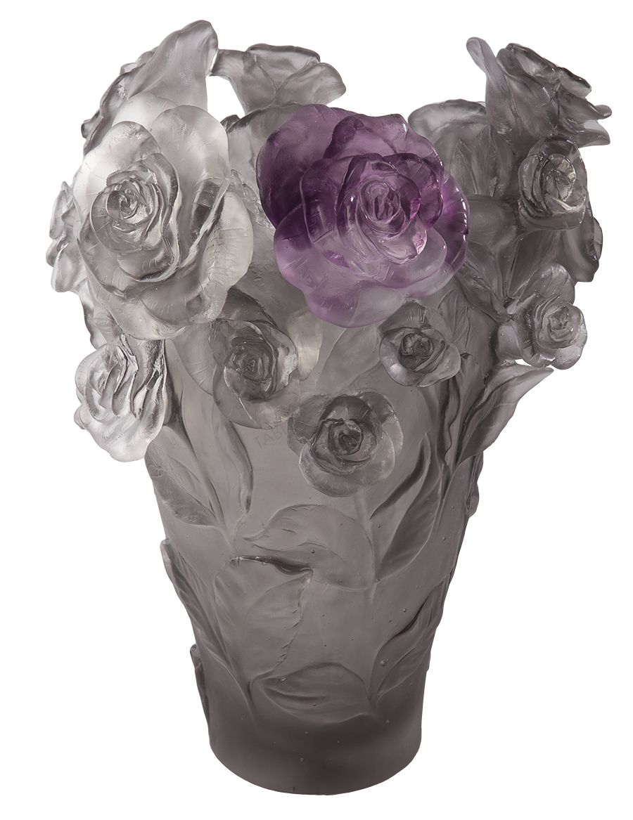 Vase Daum Rose Passion 05308 3