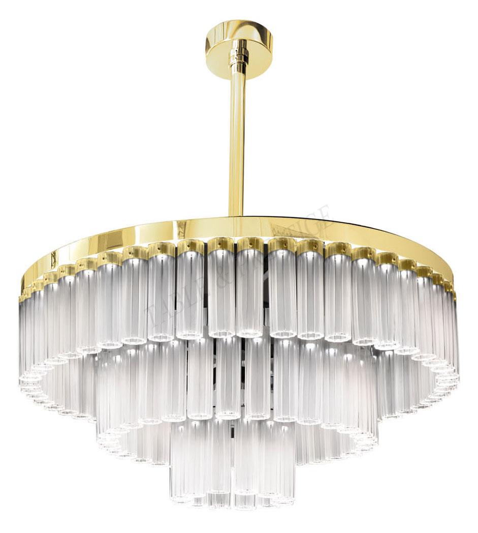 chandelier Lalique Orgue 10159300