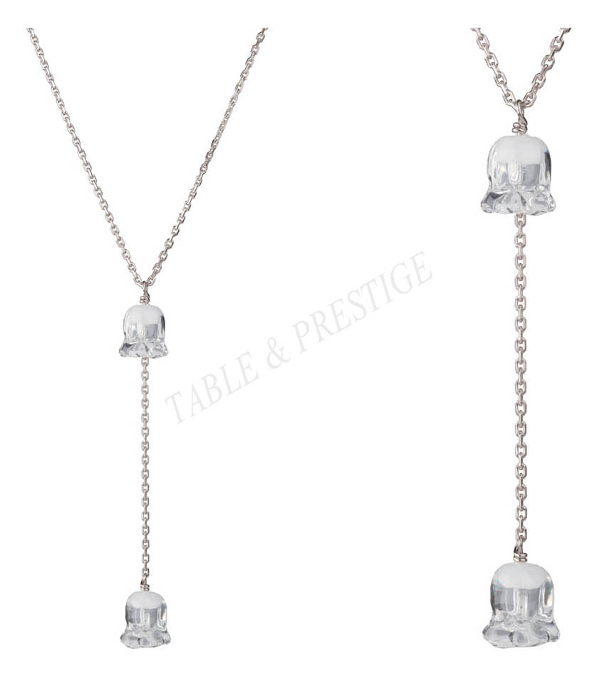 necklace Lalique Muguet 10105500