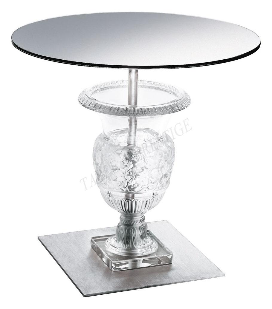 Versailles Pedestal Table   Lalique