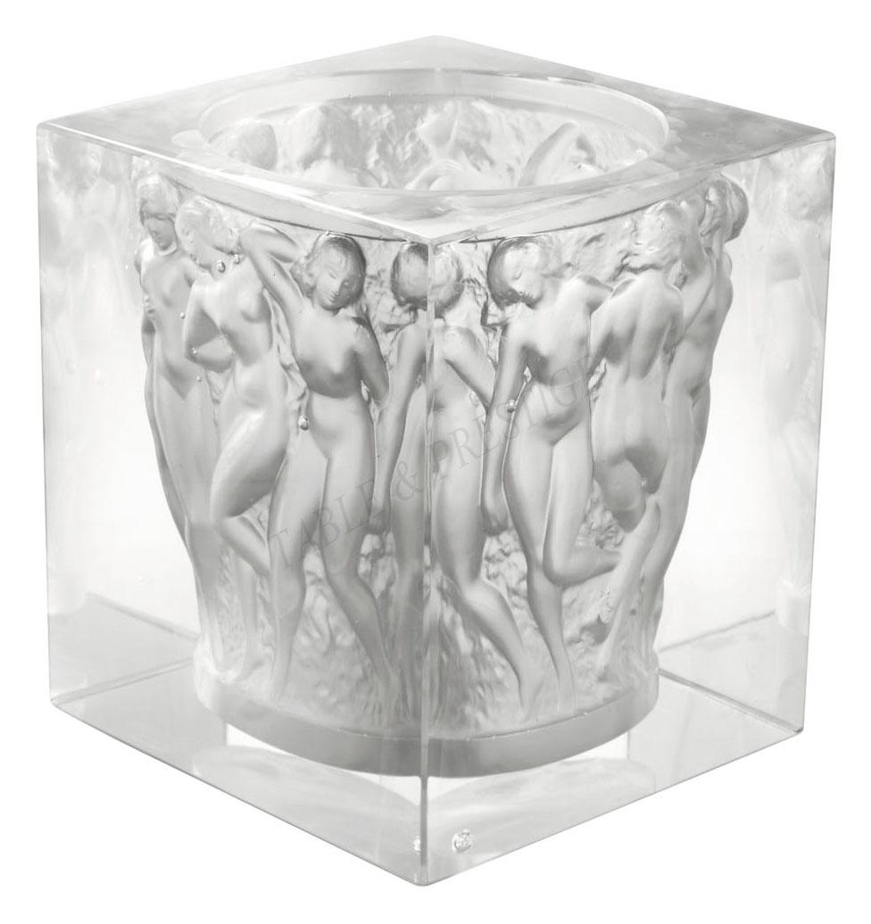 Ru0026eacute;vu0026eacute;lation Bacchantes Vase   Lalique