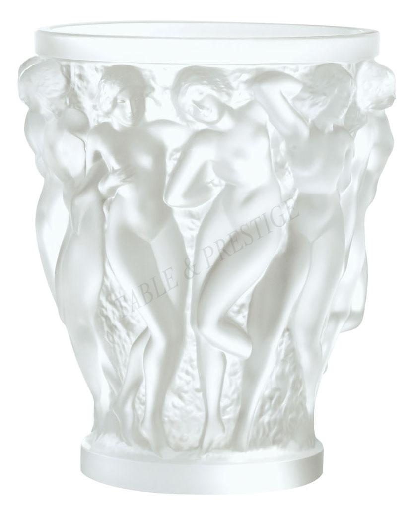 bacchantes vase clear lalique - Lalique Vase