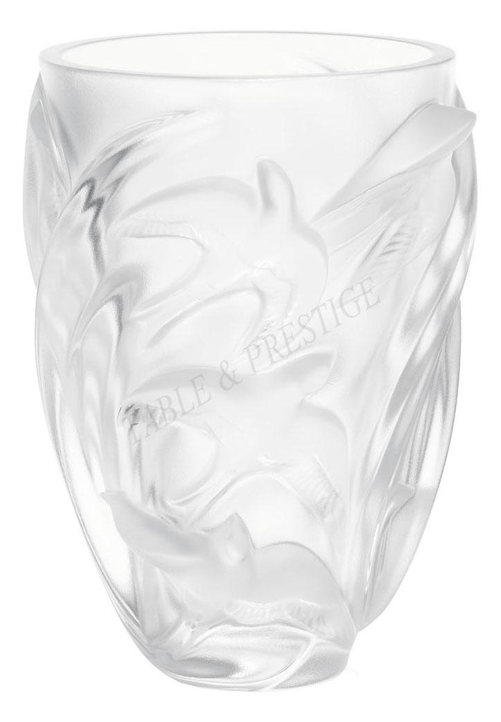 Vase Lalique Martinets 1230800