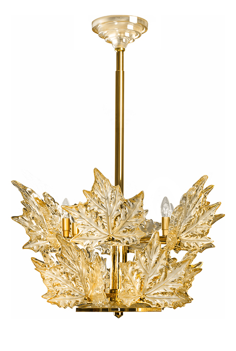 Ch&s-élysées chandelier in gold luster crystal gilded finish (2 tiers) -  sc 1 st  Table u0026 Prestige & chandelier Lalique champs elysees 10545000 azcodes.com
