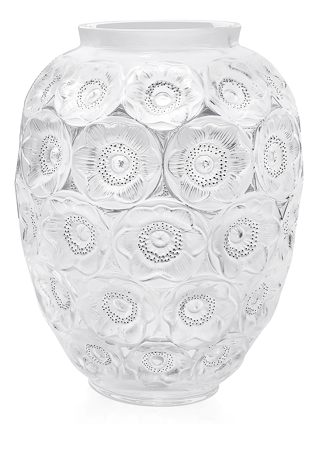 Vase Lalique Anemones 10518200