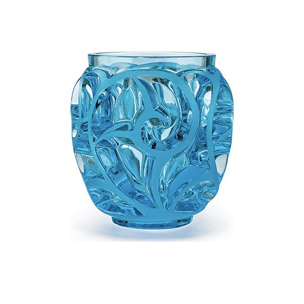 Vase Light Blue Lalique Tourbillons 10571500