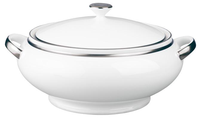 soup tureen Raynaud fontainebleau platine fontp051