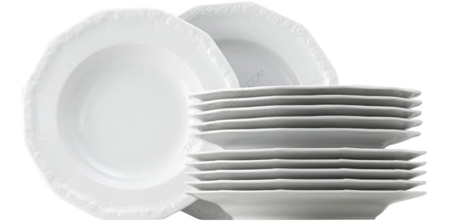 Dinner set 12 pieces - Rosenthal selection  sc 1 st  Table \u0026 Prestige & plate Rosenthal Maria-weiss Dinner set 10430-800001-18339