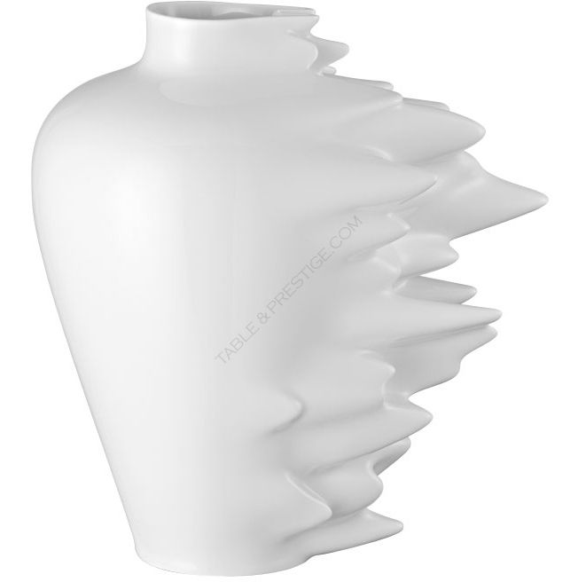 fast white vase 30 cm 50 years 50 vases rosenthal shop. Black Bedroom Furniture Sets. Home Design Ideas