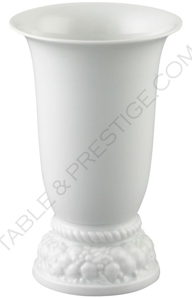 maria white vase 18 cm maria weiss rosenthal shop. Black Bedroom Furniture Sets. Home Design Ideas