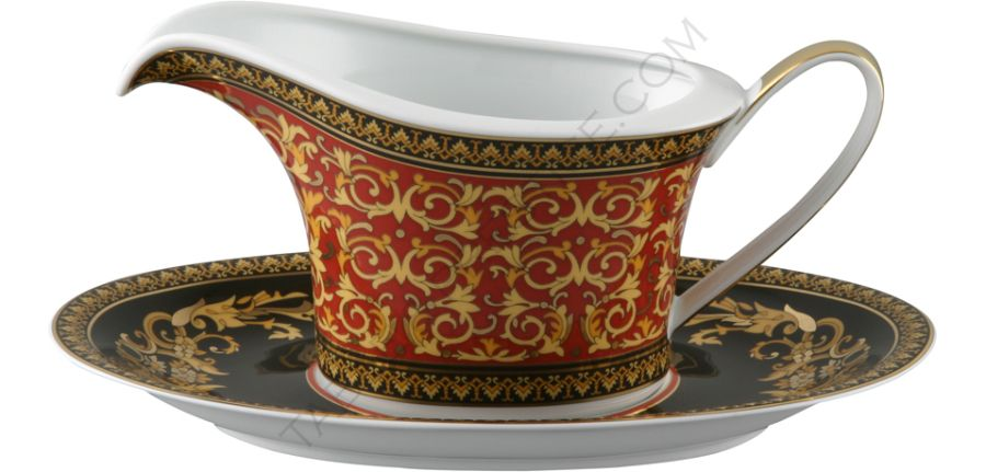 Sauce-boat and saucer - Rosenthal versace  sc 1 st  Table \u0026 Prestige : versace dinnerware - pezcame.com