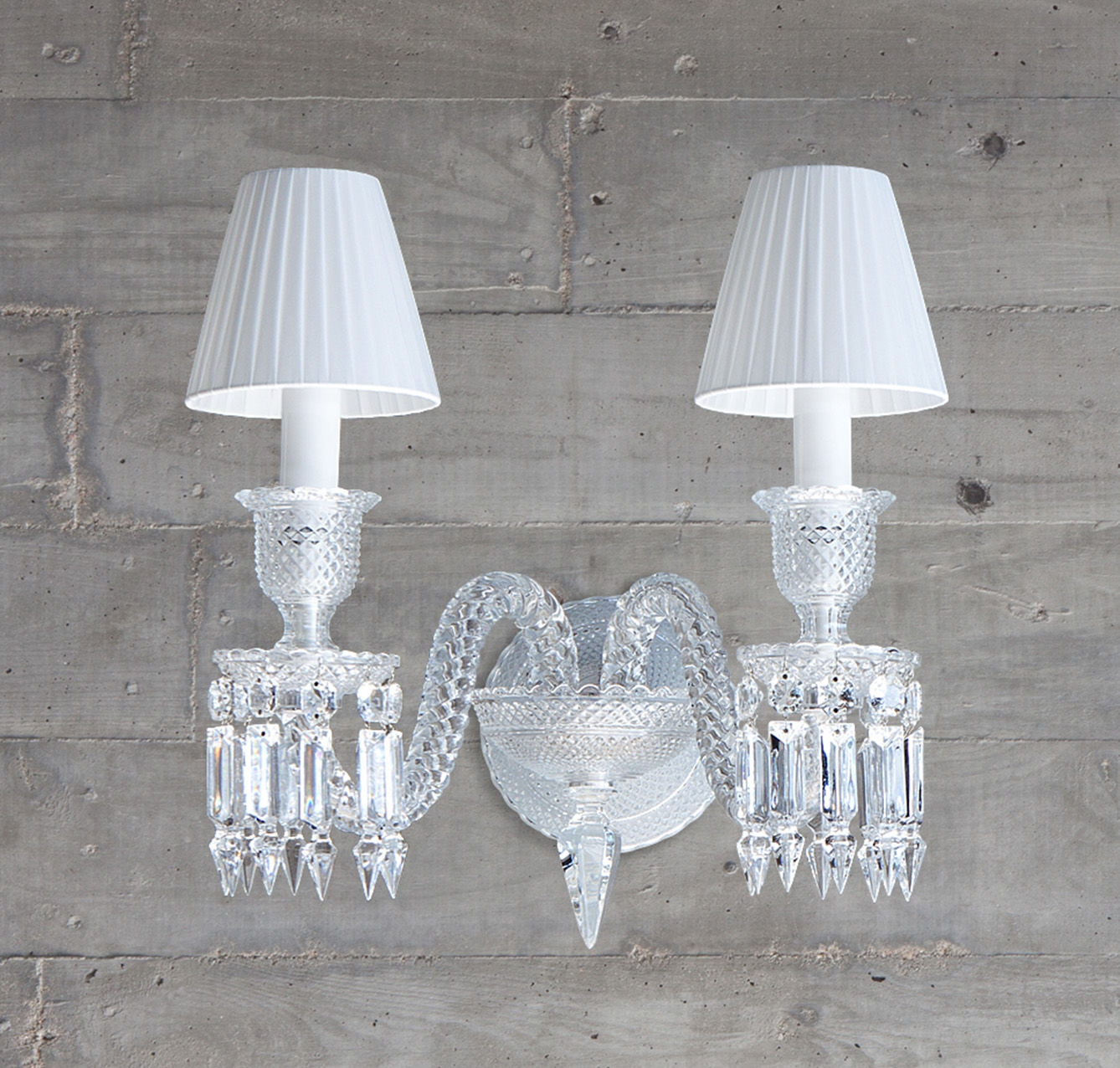 Wall sconce clear 2l - Baccarat & wall sconce clear Baccarat zenith 2807742