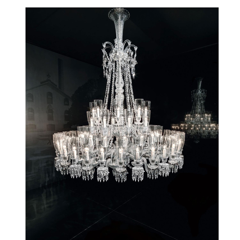 Chandelier Clear 64 Lights Baccarat