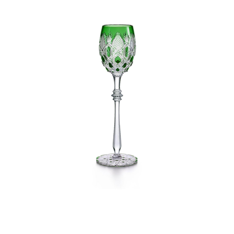 Glass Baccarat Tsar Glass Green 1499156